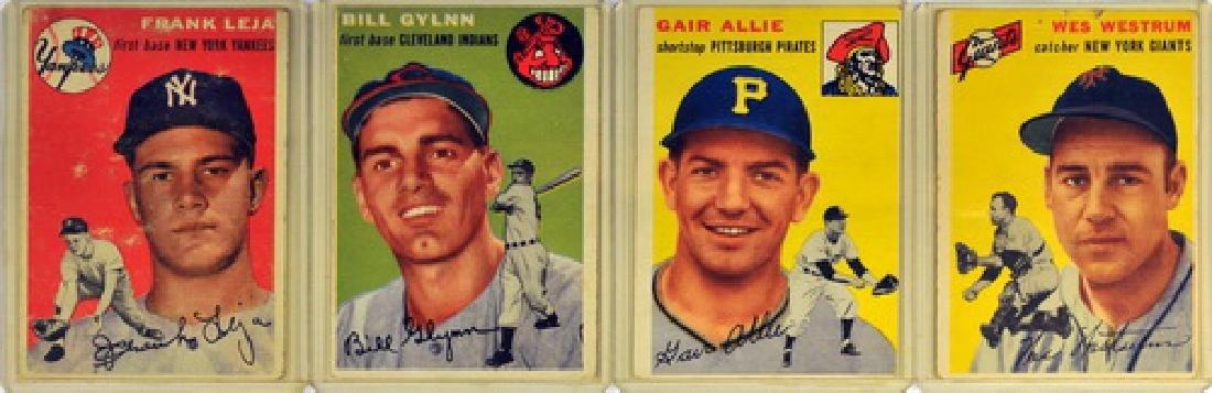 50 1954 Topps Baseball Cards - 3
