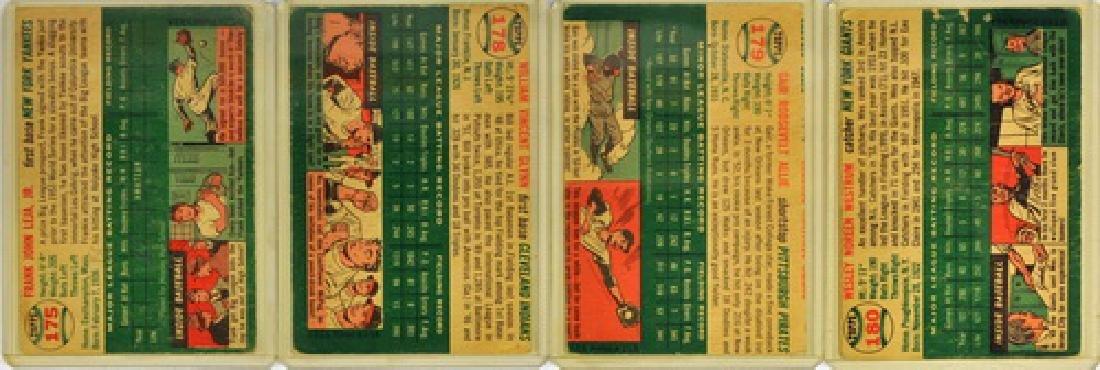 50 1954 Topps Baseball Cards - 4