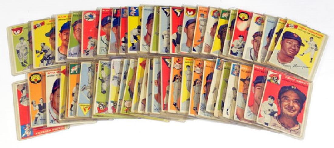 50 1954 Topps Baseball Cards - 5