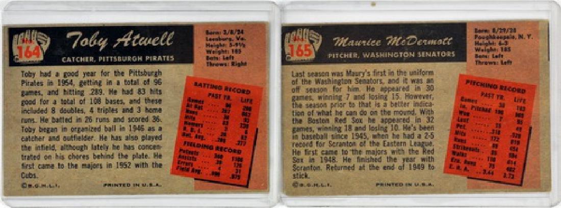 50 1955 Bowman Baseball Cards - 2