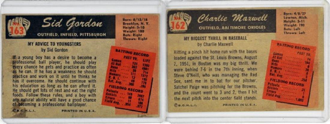 50 1955 Bowman Baseball Cards - 4