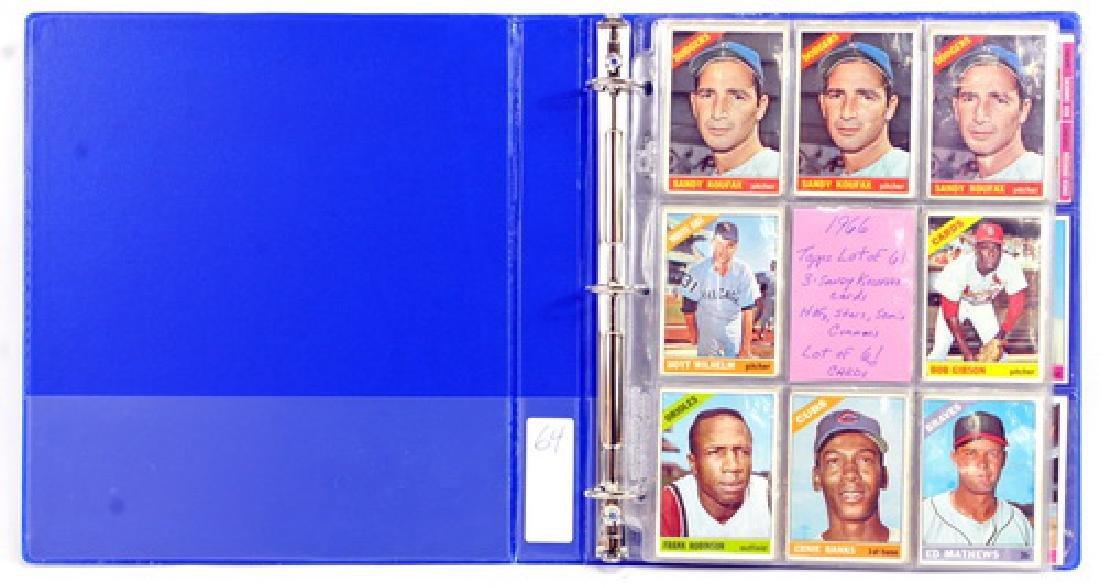 61 1966 Topps Baseball Cards