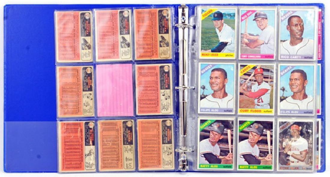 61 1966 Topps Baseball Cards - 2