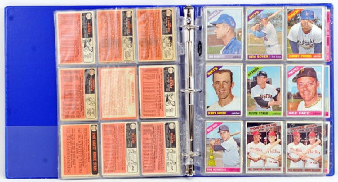 61 1966 Topps Baseball Cards - 4
