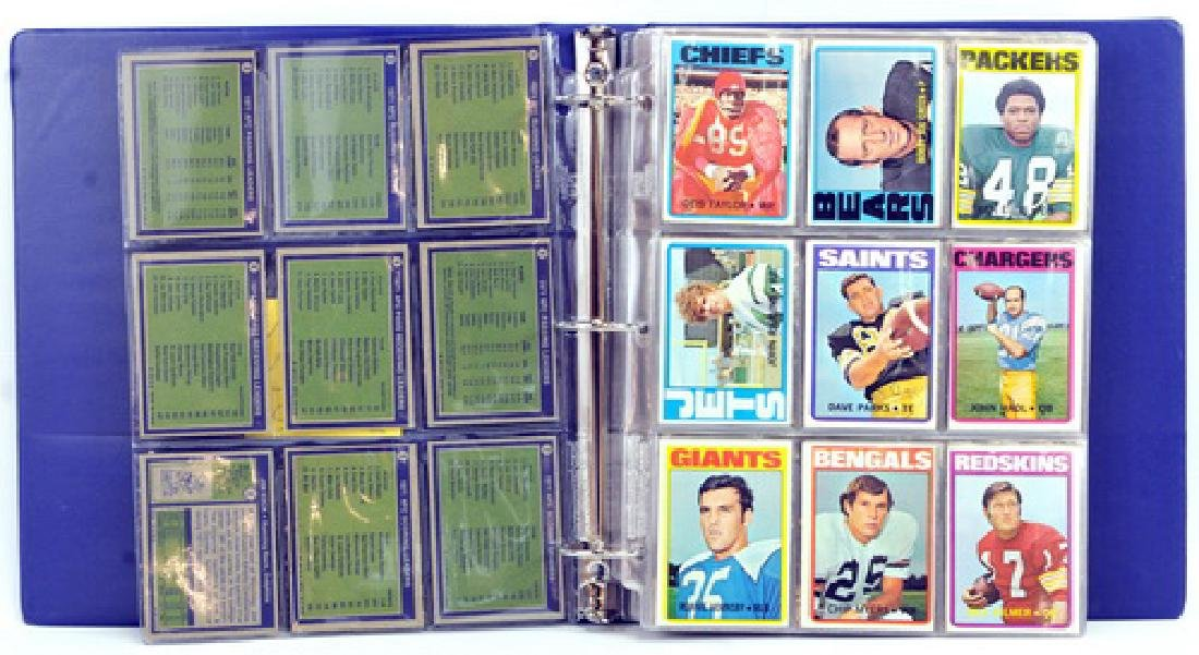 Complete Set 1972 Topps Football 1-263 - 2