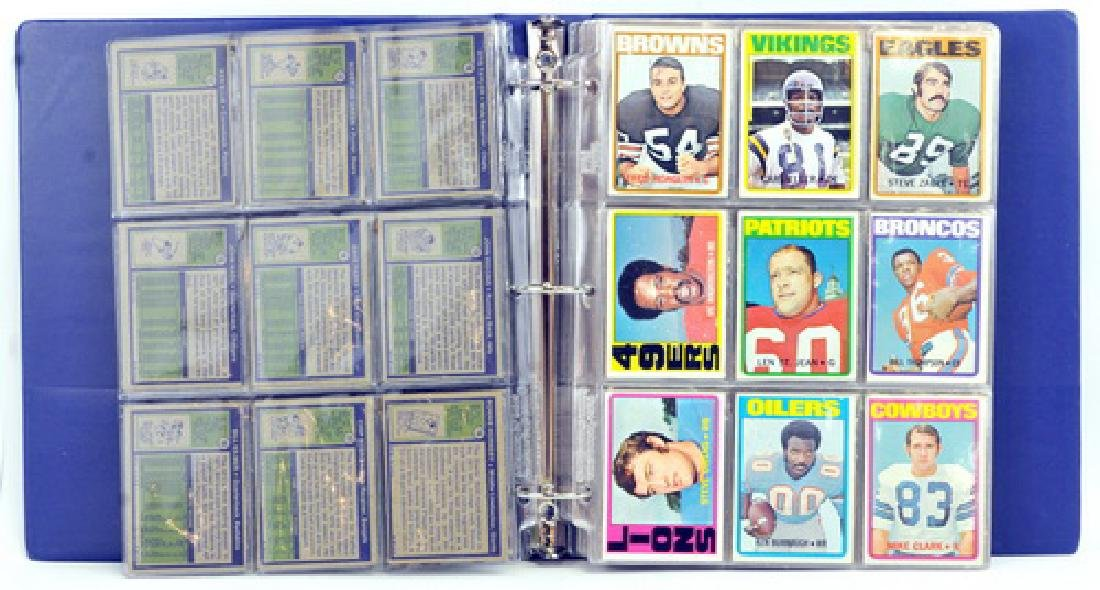 Complete Set 1972 Topps Football 1-263 - 3
