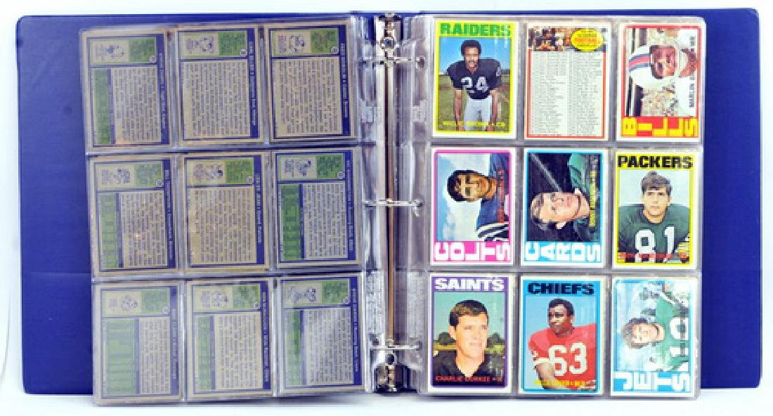 Complete Set 1972 Topps Football 1-263 - 4