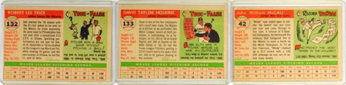 50 1955 Topps Baseball Cards - 2
