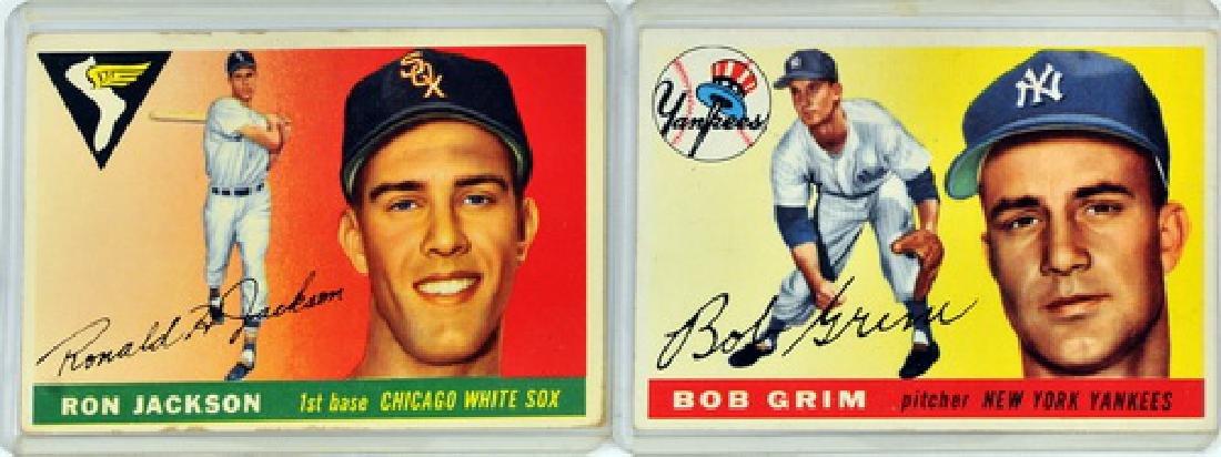50 1955 Topps Baseball Cards - 3