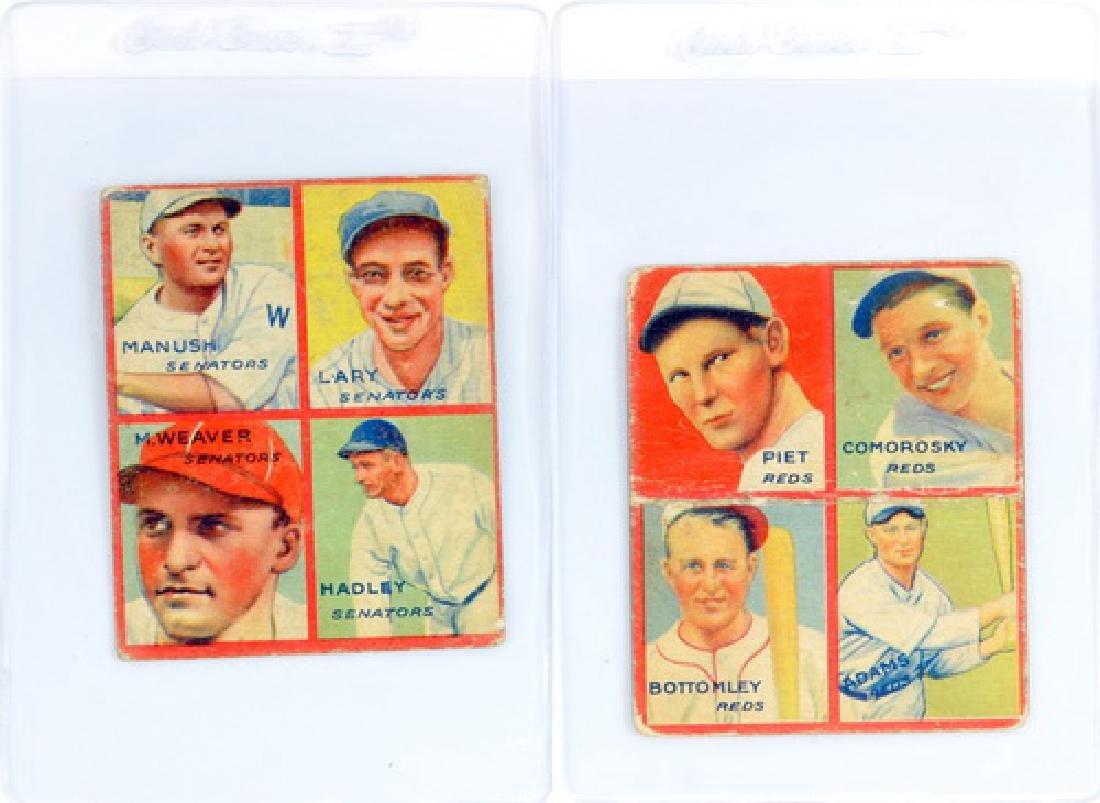 9 1935 Goudey 4 In 1 Including Hof - 3