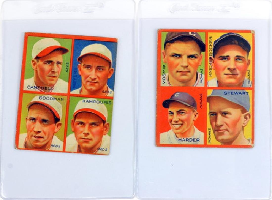 9 1935 Goudey 4 In 1 Including Hof - 5