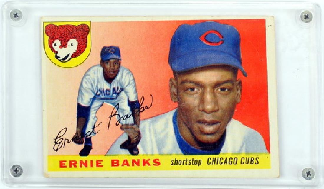 1955 Topps Ernie Banks Ungraded