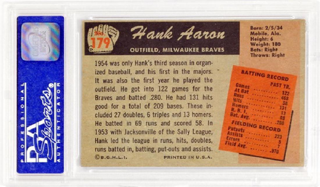 1955 Bowman Hank Aaron Psa 5 - 2