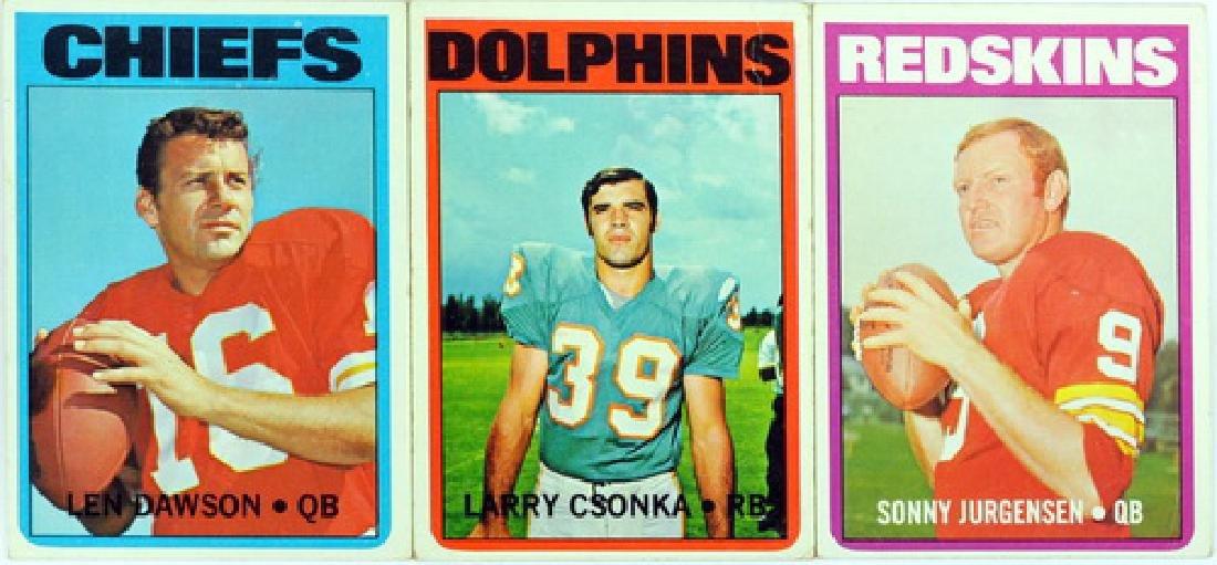 1972 Topps Football Starter Set  91 Cards