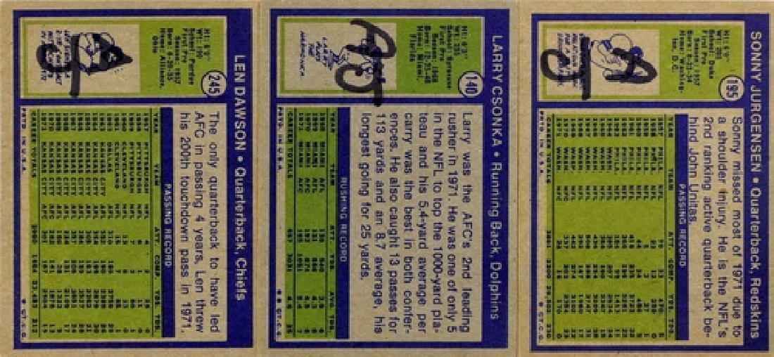 1972 Topps Football Starter Set  91 Cards - 2