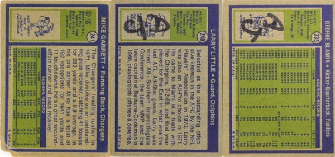 1972 Topps Football Starter Set  91 Cards - 4