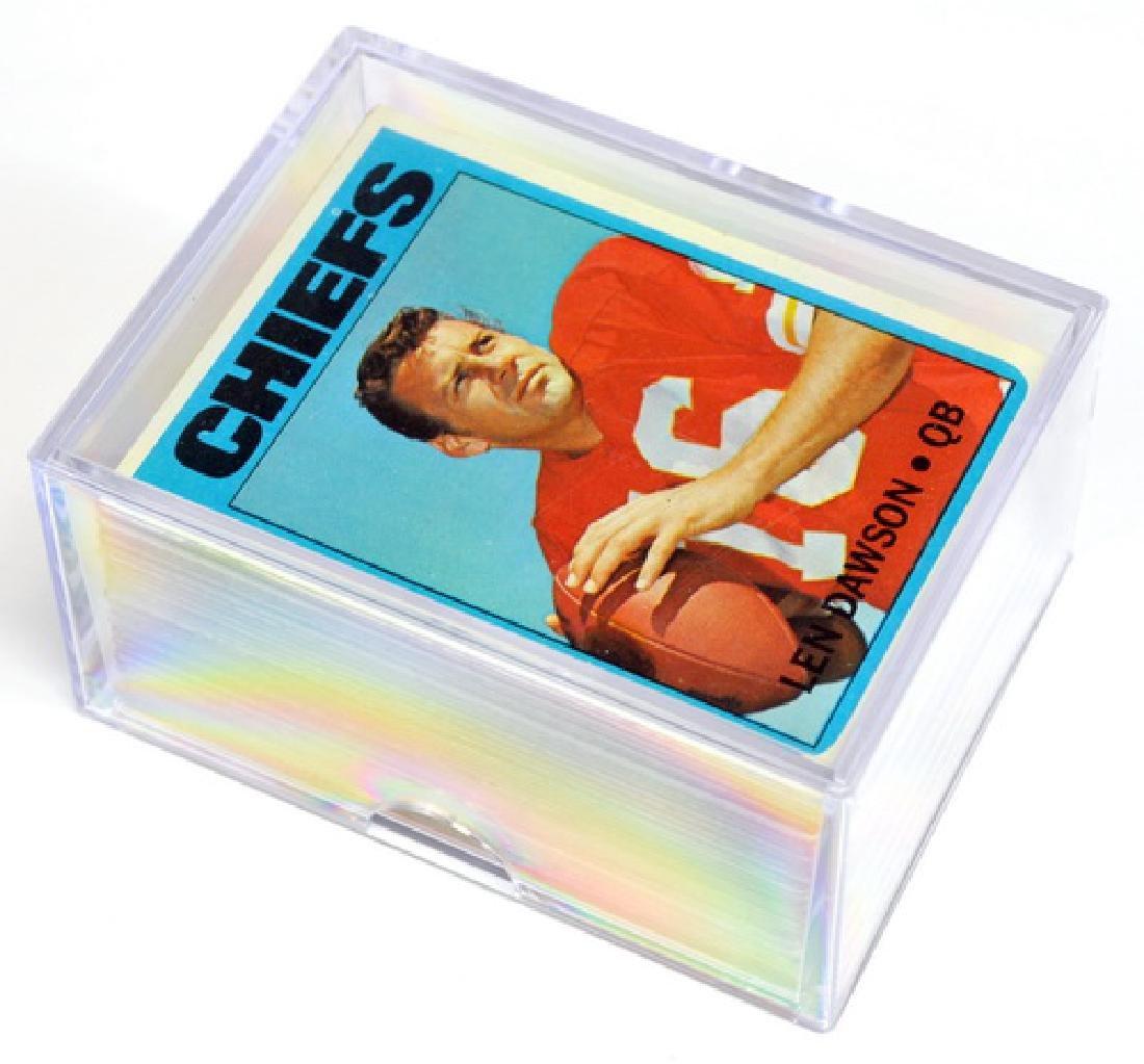 1972 Topps Football Starter Set  91 Cards - 6