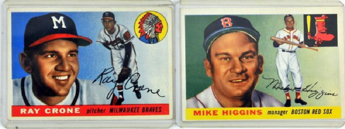 50 1955 Topps Baseball Cards