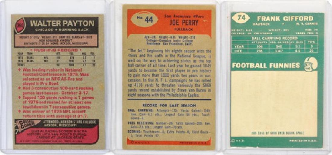11 Vintage Football Cards Including Signed Cards - 2