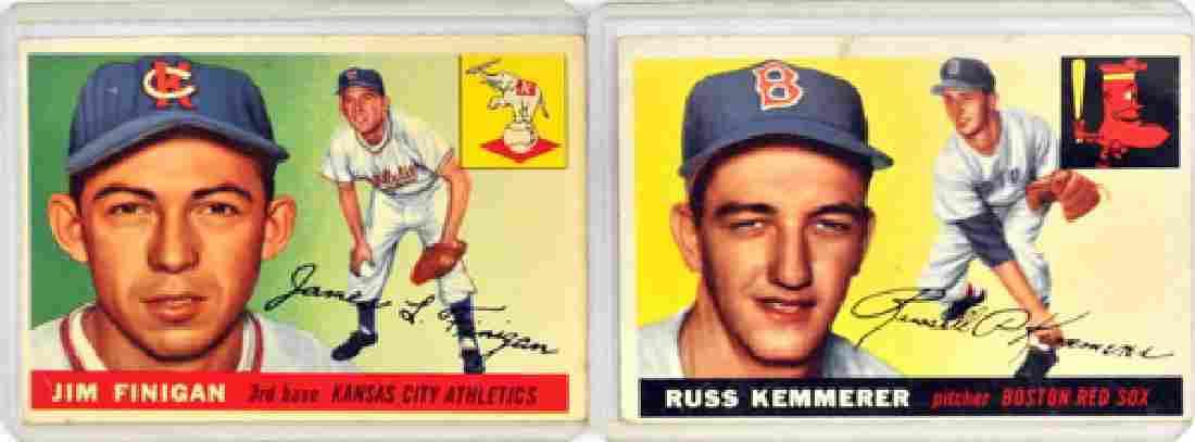 60 1955 Topps Baseball Cards