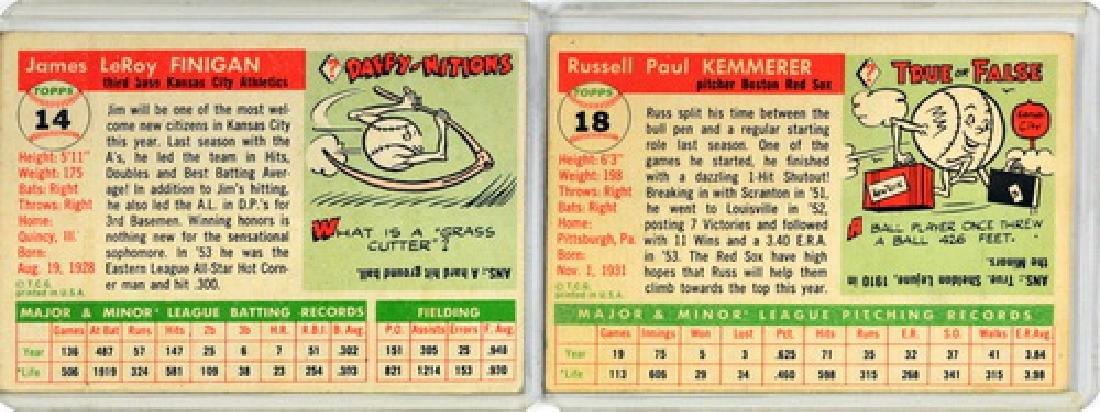 60 1955 Topps Baseball Cards - 2