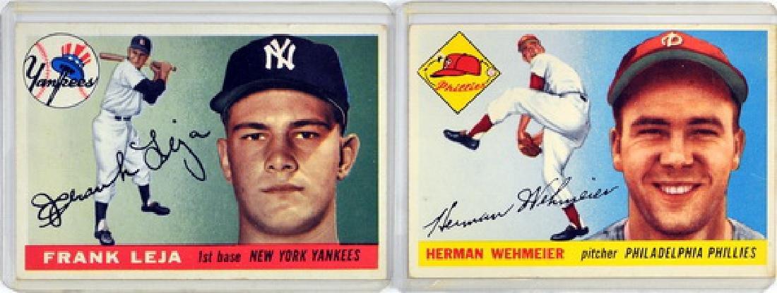 60 1955 Topps Baseball Cards - 3