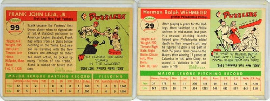 60 1955 Topps Baseball Cards - 4
