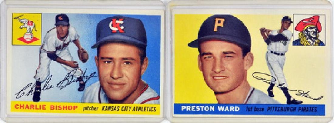 60 1955 Topps Baseball Cards - 5