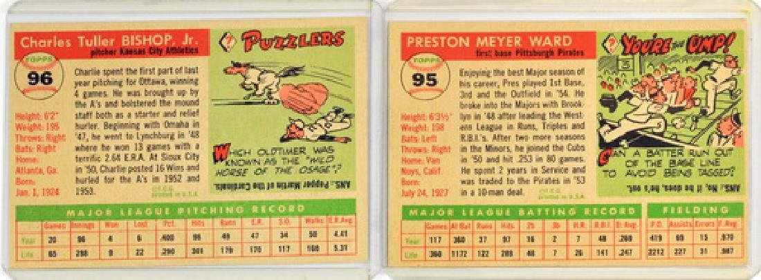 60 1955 Topps Baseball Cards - 6
