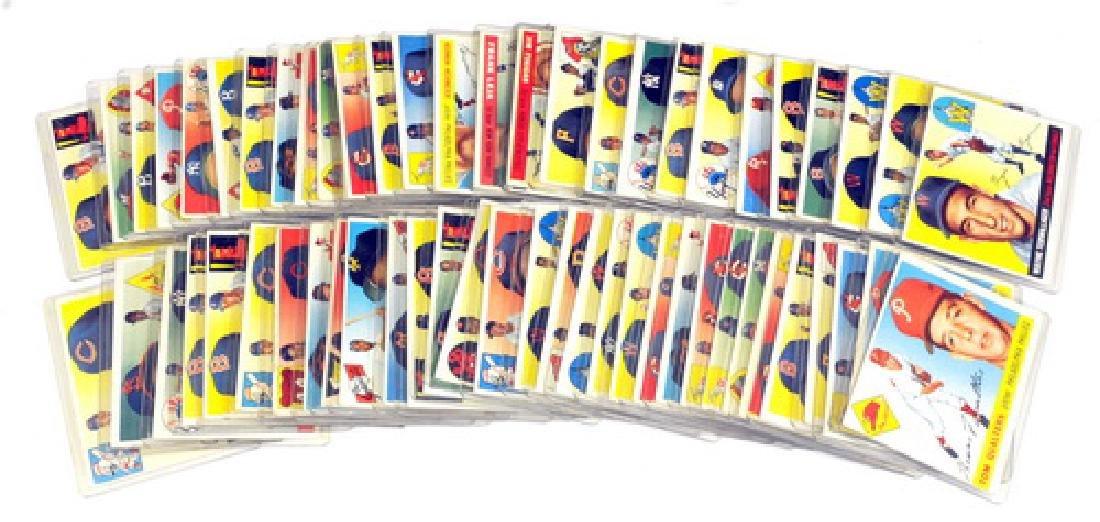 60 1955 Topps Baseball Cards - 7