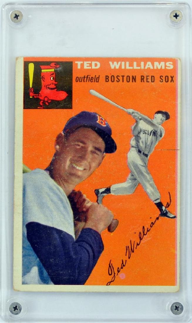 1954 Topps Ted Williams Ungraded