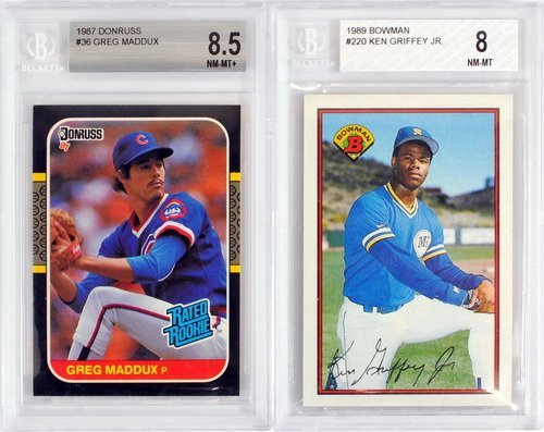 7 Graded Baseball Rookies And Stars 1980's - 3
