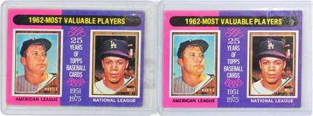 Three Vintage Mickey Mantle Cards