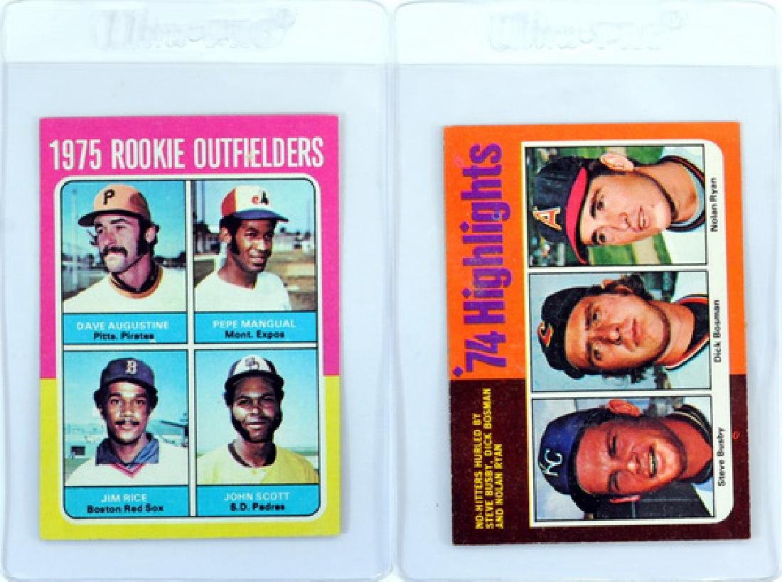 14 1975 Topps Stars Cards Ungraded