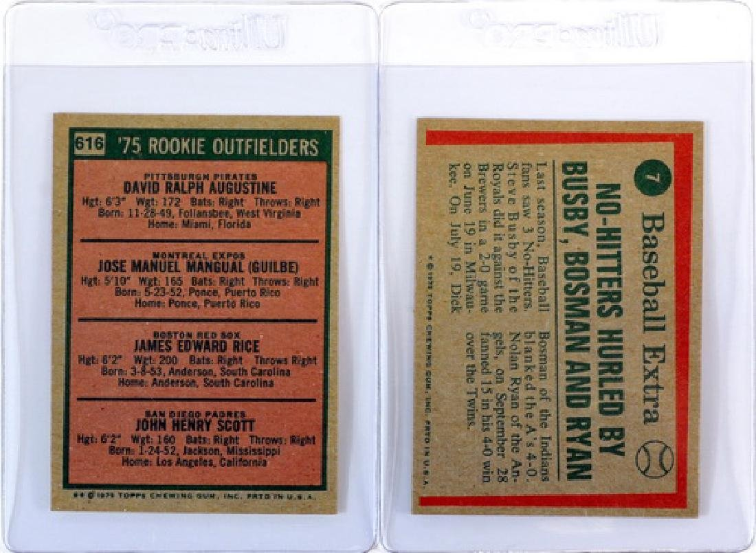 14 1975 Topps Stars Cards Ungraded - 2