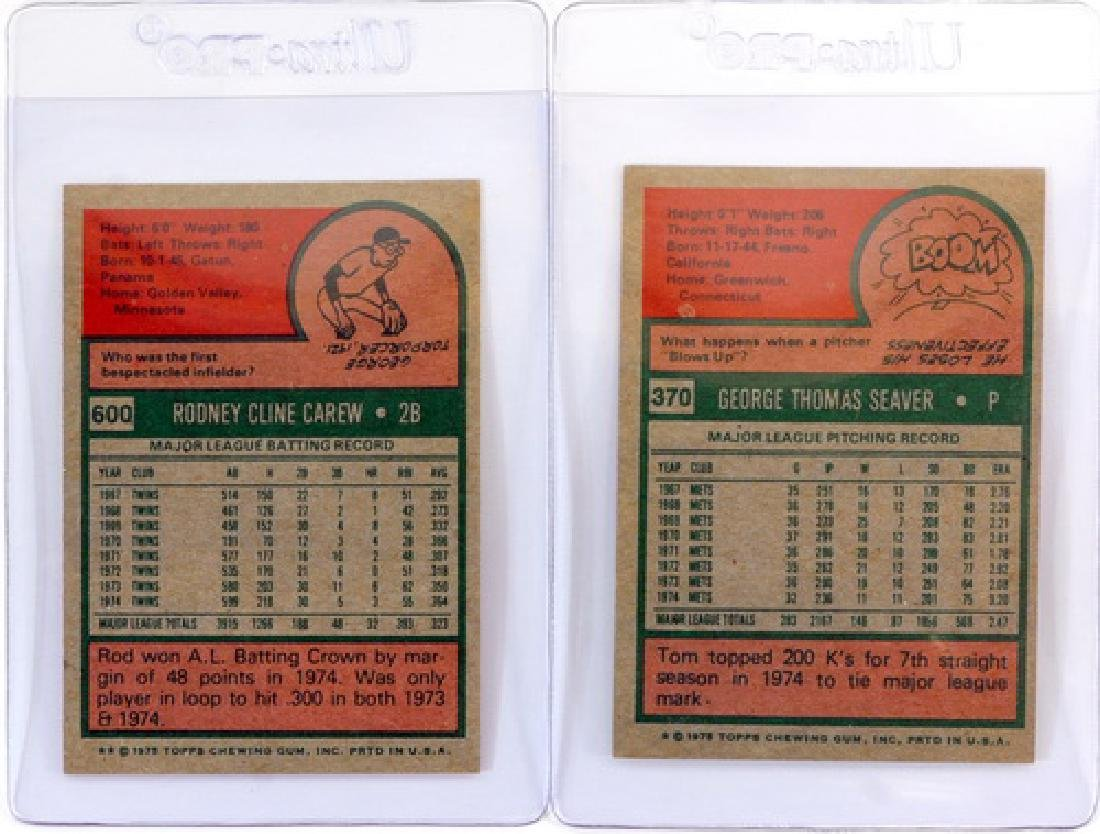 14 1975 Topps Stars Cards Ungraded - 6