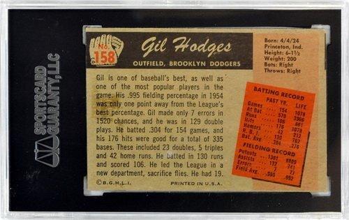 Three 1955 Bowman Graded Hall Of Famers - 4