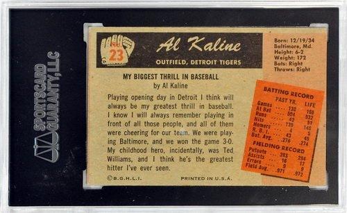 Three 1955 Bowman Graded Hall Of Famers - 6