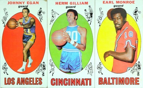 69 1969 Topps Basketball Cards Stars And Rookies