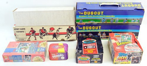 5 Boxes Of Modern Sports Cards