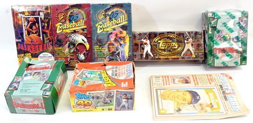 5 Boxes Of Modern Sports Cards - 5
