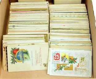 400 Vintage Christmas Postcards