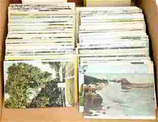 400 Vintage Massachusetts Postcards