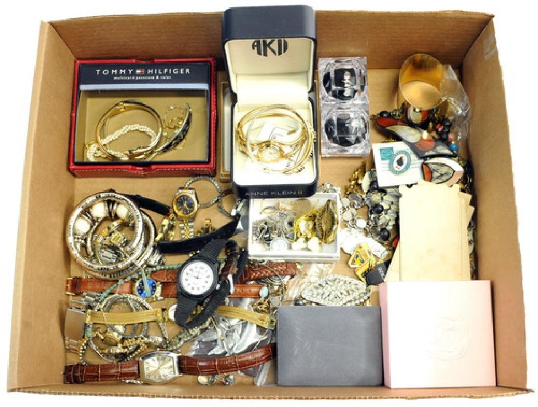 Two Boxes of Costume Jewelry