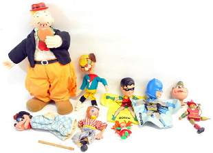 25 1950's and 60's Puppets