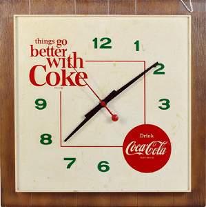 Original 1950 Coke clock
