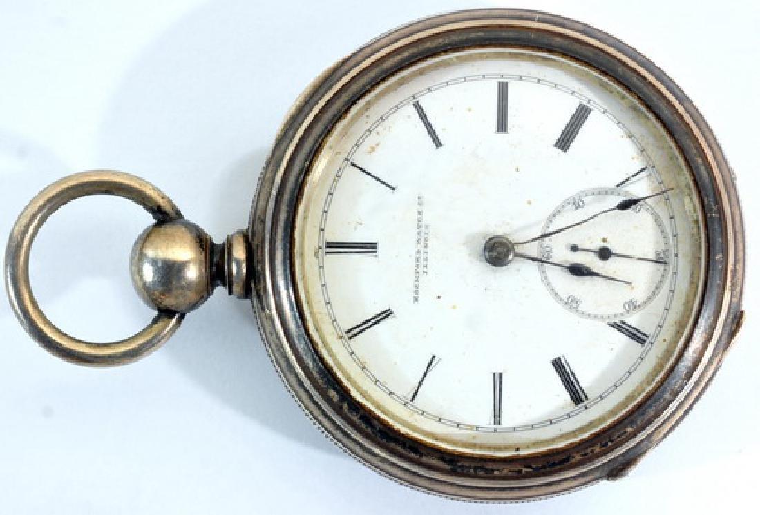 2 Pocket Watches:1. Manufacturer Elgin,