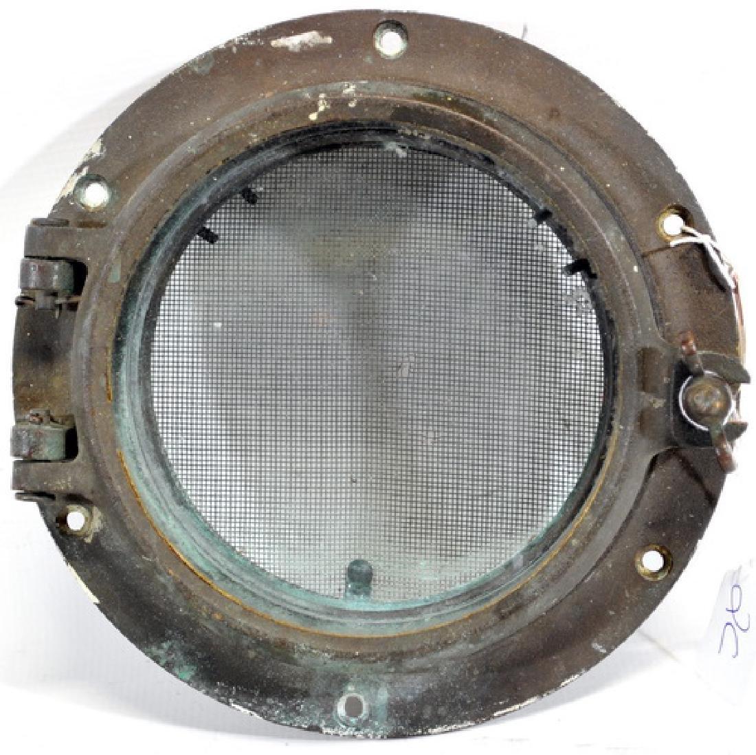 Antique Bronze Porthole