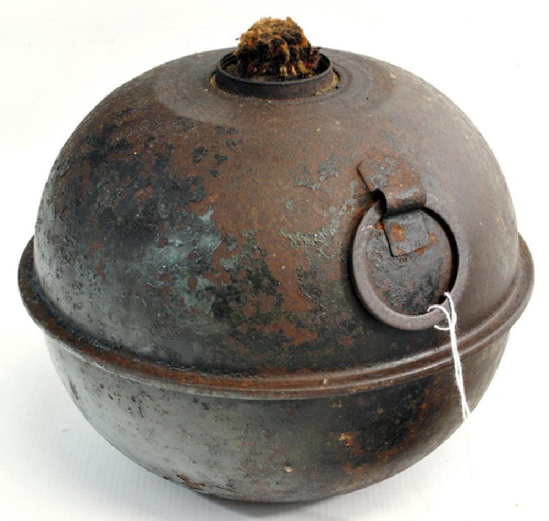 Antique Iron Smudge Pot