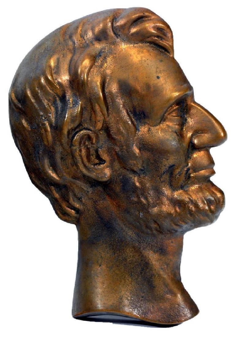 Vintage Abraham Lincoln Bronze Bust